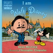 """I Am Marie Curie"" and ""I Am Walt Disney"" (both $15.99 published by Penguin Random House) are the latest entries in University of Michigan alumnus/New York Times best-selling novelist Brad Meltzer's ""Ordinary People Change the World"" series of children's books."