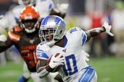 Detroit Lions' Brandon Powell (10)
