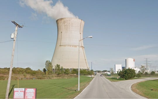 A bitter fight has broken out over a new Ohio law subsidizing the Davis-Besse, shown, and Perry plants, two struggling nuclear power plants owned by bankrupt FirstEnergy Solutions Corp.
