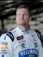 Dale Earnhardt Jr. is scheduled to run in the Xfinity race at Darlington on Saturday.