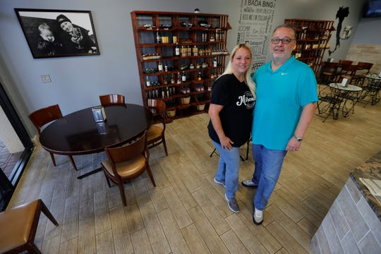 Stephanie and Bobby Casale are the owners of Mirone's Hoagies in Cape Coral. The restaurant specializes in hoagies, salads and flatbreads. They also offer a selection of wines and beers.