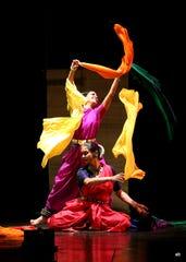 Dancers from Antar Yatra