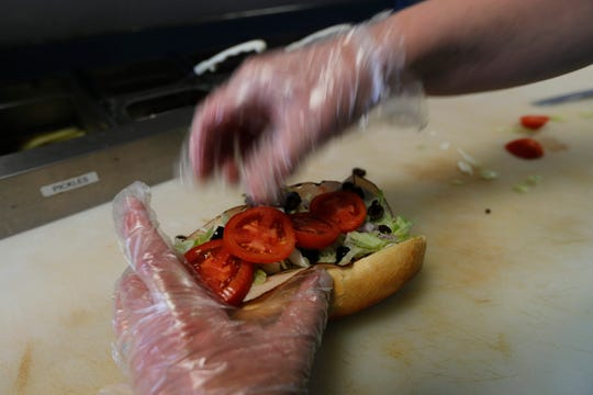 Mirone's specializes in hoagies, salads and flatbreads. The Cape restaurant also offers pasta dishes, beer and an extensive selection of wines.