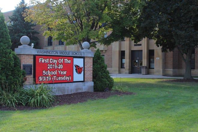Washington Elementary School, 314 S. Baird St., in Green Bay.