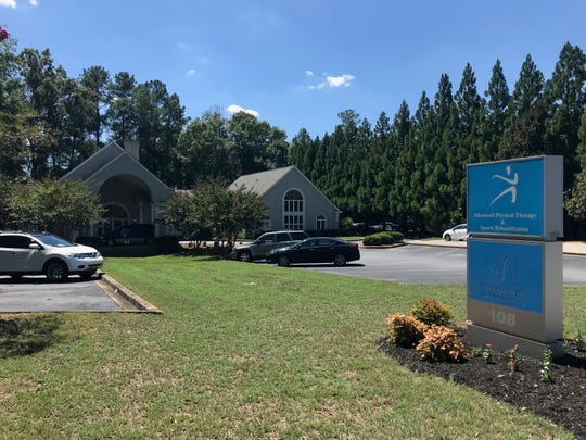 The Pain Management Associates clinic in Anderson is pictured on August 29, 2019, its second to last day being open.