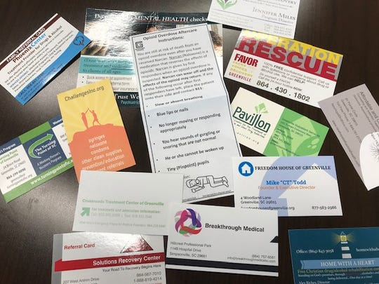 Greenville County EMS will soon begin handing out packets with information about recovery to patients who have overdosed.