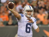 Colts waive quarterback Chad Kelly after suspension ends