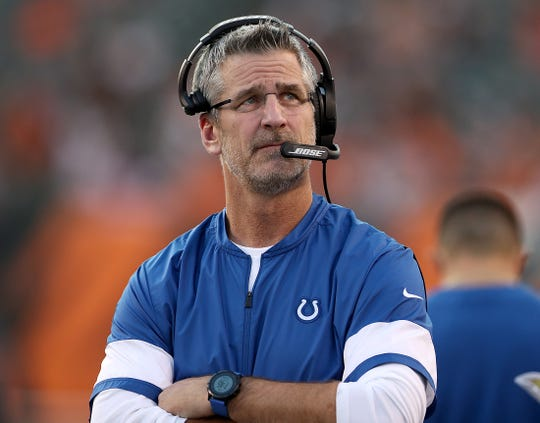 """Frank Reich's mantra """"get 1% better every day"""" resonates with his team."""