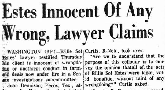 An AP article from the September 6, 1962 Lancaster Eagle-Gazette.