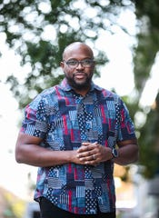 Playwright Idris Goodwin has two productions running in Louisville this fall. Ghost at StageOne and Hype Man: A break beat play at Actor's Theatre.
