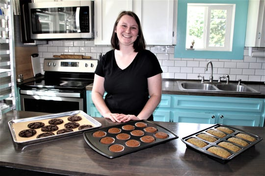 Noel Ayers is the owner and operator of Naturally Noel's Bakery, which she runs out of her family home in LaRue. She specializes in making gluten-free items. The business marks its one-year anniversary this month.