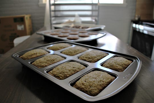 Zucchini bread is one of the top-selling items offered by Naturally Noel's Bakery, based in LaRue.