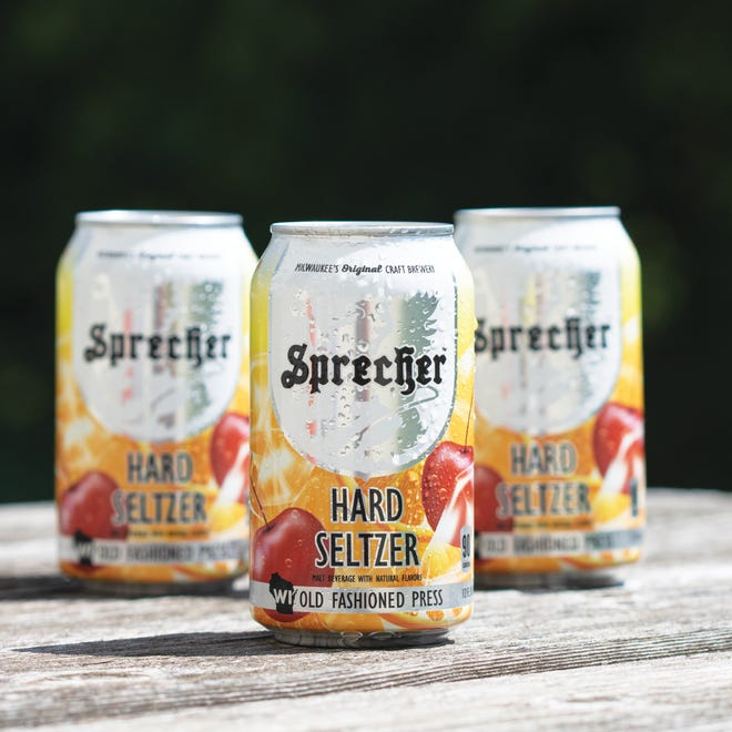 Sprecher's WI Old Fashioned Press Hard Seltzer has a 4.5% ABV.