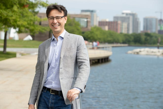 Ken-David Masur begins his first season as Milwaukee Symphony music director with concerts Sept. 13-15, 2019 at the Marcus Center. Read more about Masur at www.jsonline.com/entertainment/arts.
