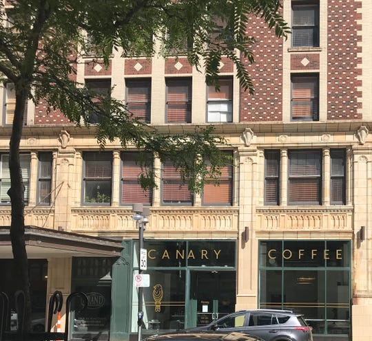 Canary Coffee Bar is at 720 N. Third St. It's on the first floor of the Grand Wisconsin Apartments, the former Hotel Wisconsin.