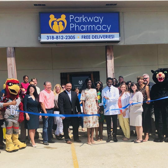 Parkway Pharmacy in Sterlington celebrated its opening with a ribbon cutting on Aug. 22.
