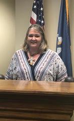 "Amanda ""Jennings"" Smith, R-Bastrop, is running for secretary of state."