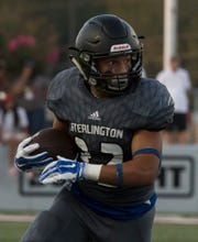 Fullback Jordan Townsend ran for two touchdowns in Sterlington's 43-7 win at Logansport on Friday night.