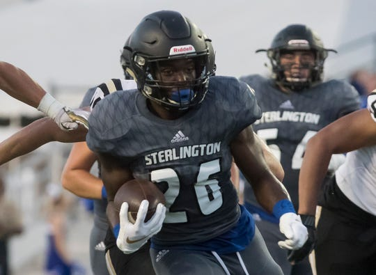 Sterlington faced Jena in the second game of Bayou Jamb at Malone Stadium in Monroe, La. on Aug. 29.