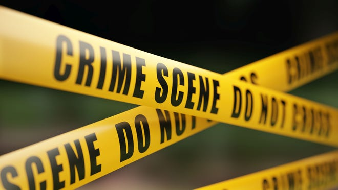 A pedestrian died Thursday night after being struck by an SUV that later fled the scene.