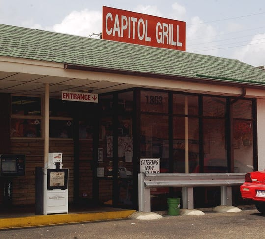 The Capitol Grill restaurant on Mt. Meigs Road.