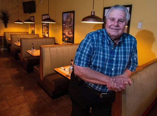 The late Rep. Dimitri Polizos, who ran Mr. Gus' in Montgomery.