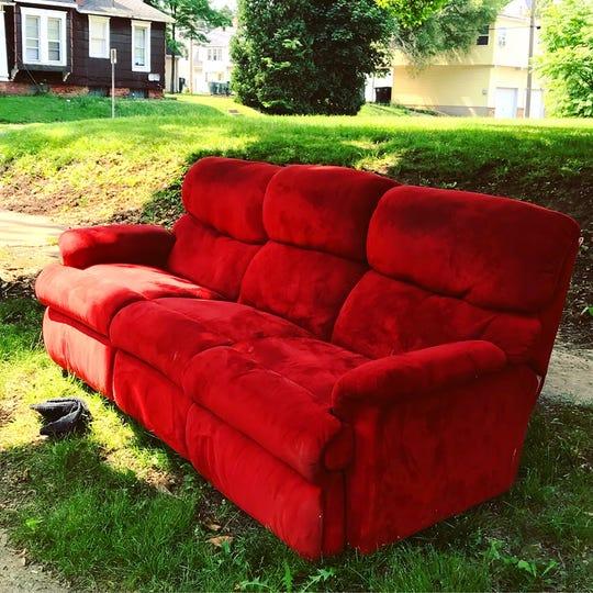 "Erik Kroczek's ""Curb Furniture"" show will be on display at Madjax for First Thursday, Sept. 5, 2019."