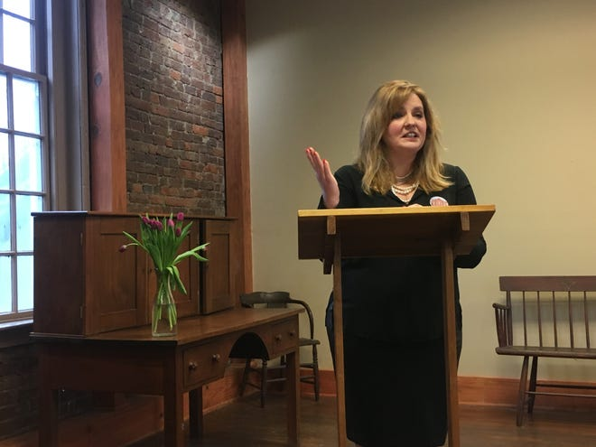 Rachael Finch is the executive director of the Historic Franklin Masonic  Hall Foundation.