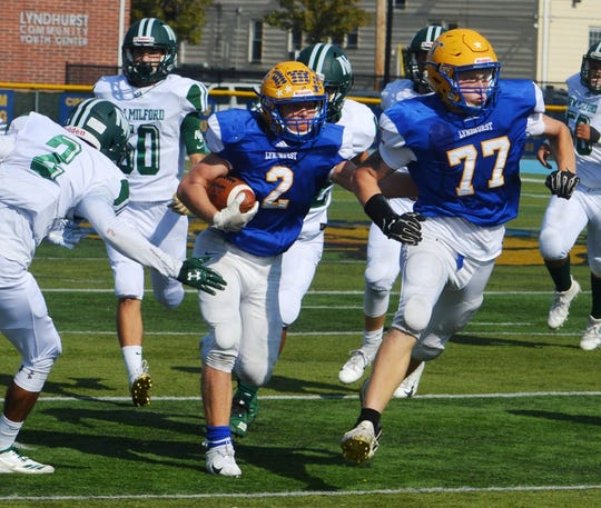 Lyndhurst senior Piotr Partyla could be one of the best all-around players in Bergen County.