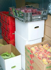 Locally grown produce is ready to be shipped out to four counties in southwestern New Mexico.