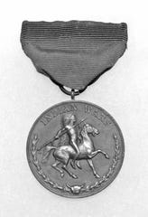 A medal from the Indian Wars.
