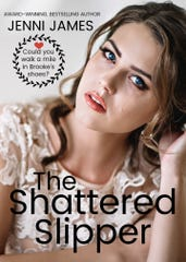 "Jenni James' writing credits include the book ""The Shattered Slipper."""