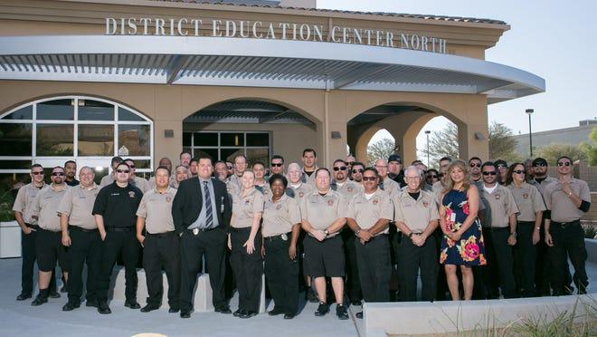 Desert Sands Unified School District security team
