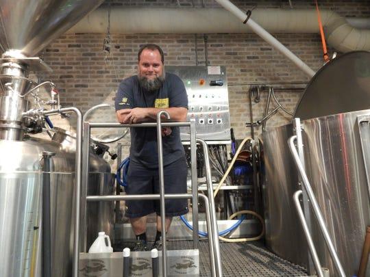 Derek Osborne is the head brewer at Pedal Haus in Tempe.