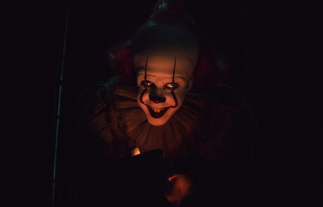 """Pennywise (Bill Skarsgård) is back to inspire more nightmares in """"It Chapter Two."""""""