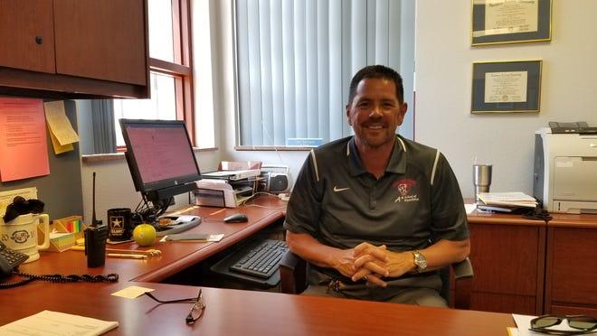 Perry High School Principal Dan Serrano