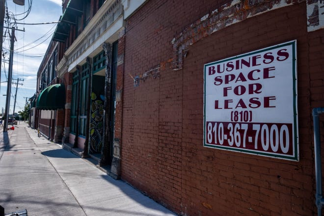 Several properties along Quay Street in Port Huron remain vacant as businesses have come and gone over the last several years.