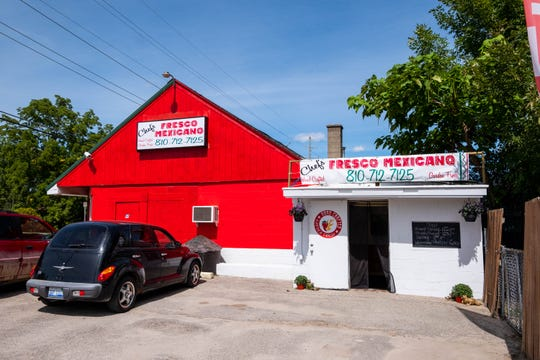 Chef's Fresco Mexicano has opened at 7023 Lakeshore Road in Lexington.