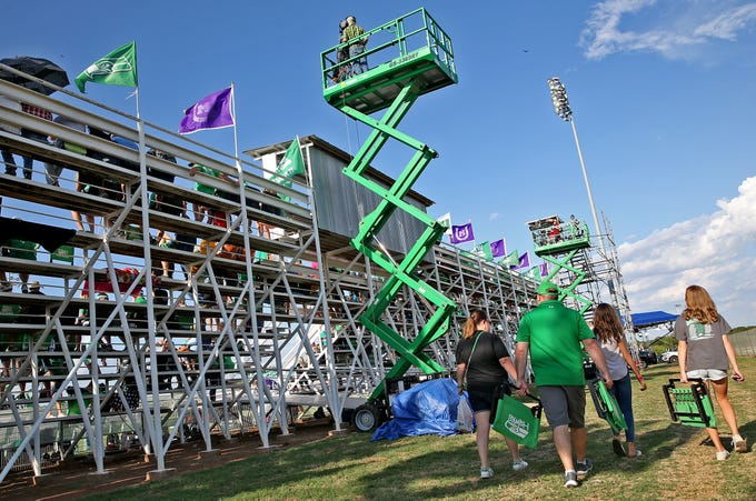 The Experience Of Televising Texas High School Football In