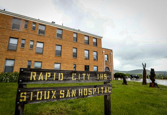 In this June 11, 2019 file photo showing the Sioux San Hospital in Rapid City. The federal agency that administers health care for Native Americans has long been plagued with problems that have kept it from improving in its delivery of health care to the more than 2.5 million people who depend on it.