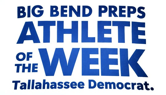 Every week during the 2019-20 school year, the Tallahassee Democrat and Big Bend Preps will award an Athlete of the Week based upon the previous week's standout performances.