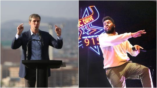 Democratic presidential candidate Beto O'Rourke will introduce Khalid at a benefit concert Sunday, Sept. 1, 2019, in El Paso for those affected by the mass shooting at an El Paso Walmart.