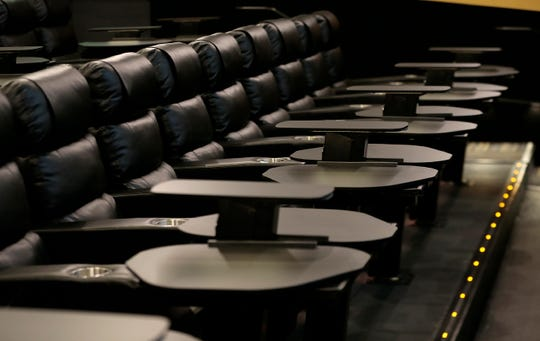 Large, comfortable seating and tables are standard at Flix Brewhouse in West El Paso.