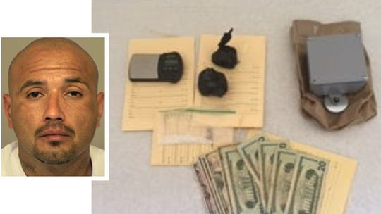 Jesse Joaquin was arrested on Aug. 28, 2019, and a search turned up these items, according to authorities.