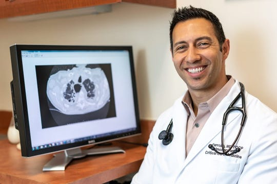 Dr. Ali Farrokh, an interventional pulmonologist, will operate a new Monarch robotic system that will be used at the Los Robles Health System in Thousand Oaks.