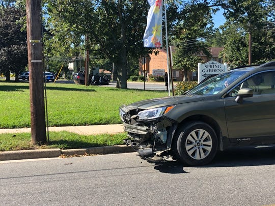 Vineland Police are investigating a two-vehicle crash along East Avenue, near Florence Avenue, on Aug. 30, 2019