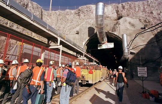 Previous work done on Yucca Mountain in Nevada