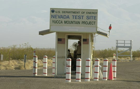Yucca Mountain checkpoint