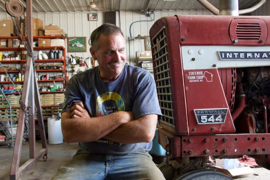 Paul Malin, from just south of Cashton, took part in Discovery Farms for seven years, seeking answers to questions about nutrient runoff and soil erosion.