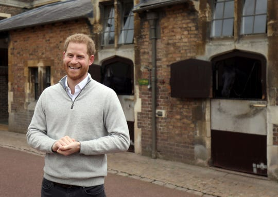 Westlake Legal Group 08fa29e7-10b4-4c7d-8f62-5f8df79070c1-AFP_AFP_1G75YA Happy birthday! Prince Harry turns 35 amid transformation in his family and future